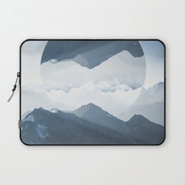 High mountain in morning time Laptop Sleeve