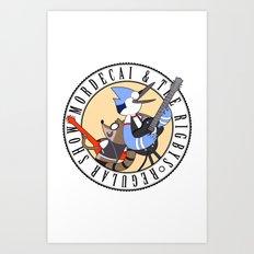 Mordecai and the Rigbys Art Print