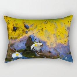 Two tadpoles Rectangular Pillow