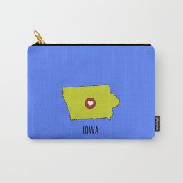 Iowa State Heart Carry-All Pouch