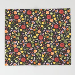 Citrus Grove Throw Blanket