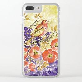 A little Bird! Clear iPhone Case