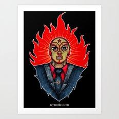 El Mero-Mero Villasenor Art Print