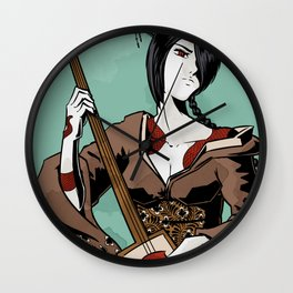 The Return of the Red Autumn Vengeance Wall Clock
