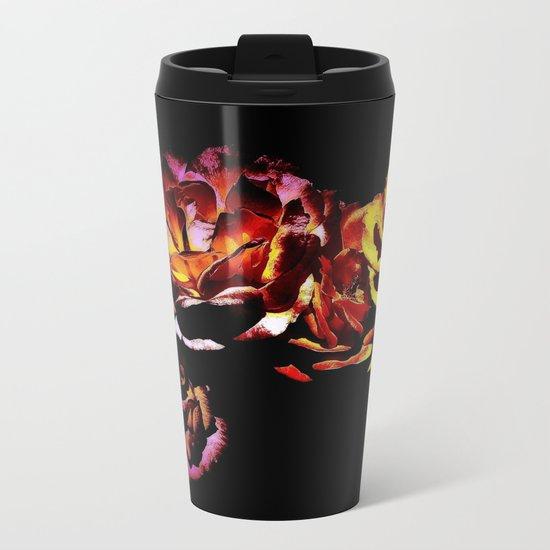 Dark Rose Tower, Broken Heart Metal Travel Mug