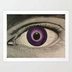 Eyedol Art Print