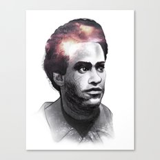 Huey Percy Newton (2/17/1942 – 8/22/1989) Canvas Print