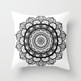 Mandalart Throw Pillow