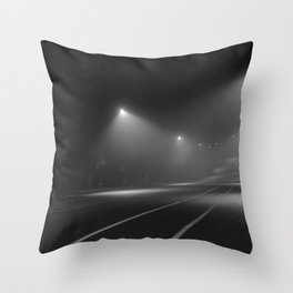 Strangers pass Throw Pillow