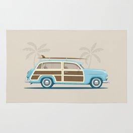 Iconic Surf Car Rug