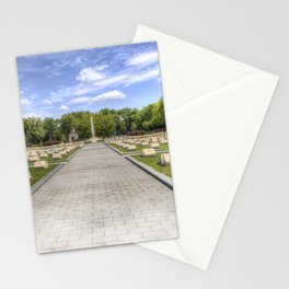 Russian War Graves Budapest Stationery Cards