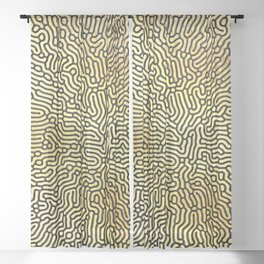 Abstract Pattern XIX Sheer Curtain