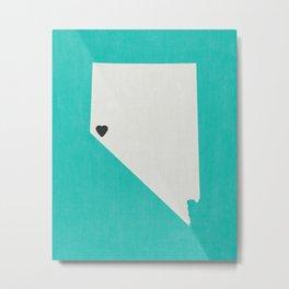 Nevada Love Metal Print