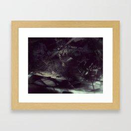 Acrylic Midnight Framed Art Print