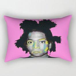 pinky basquiat Rectangular Pillow