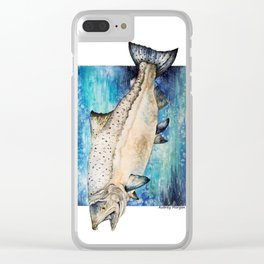 King Salmon Clear iPhone Case