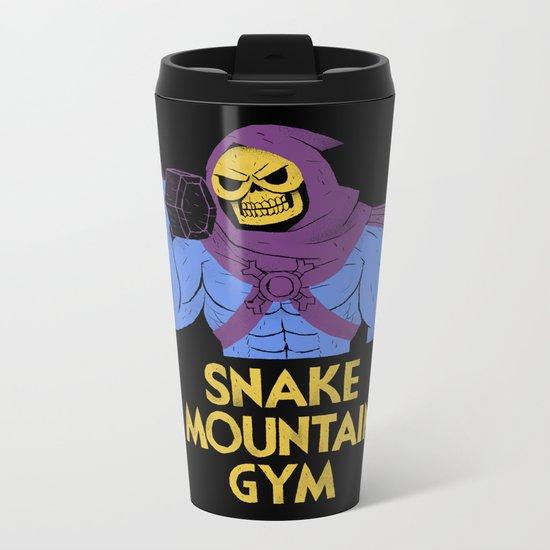 snake mountain gym Metal Travel Mug