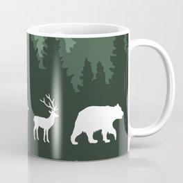 The Walk Through The Forest Coffee Mug