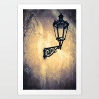 lantern Art Prints featuring Lantern by Maria Heyens