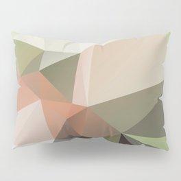 KASTANIE - low poly illustration pattern Pillow Sham
