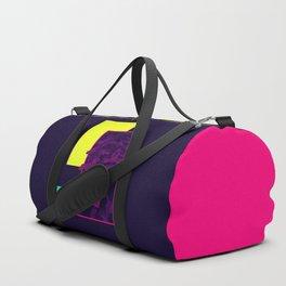 Neon Bush #society6 #retro Duffle Bag