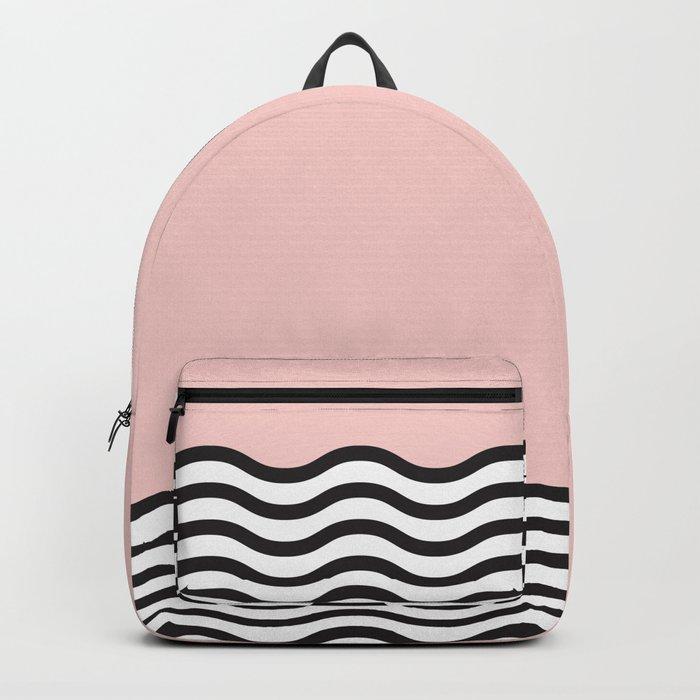 Waves of Pink Backpack