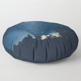 Follow the stars Floor Pillow