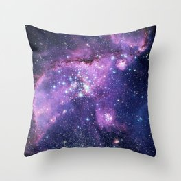 Small Magellanic Cloud Throw Pillow