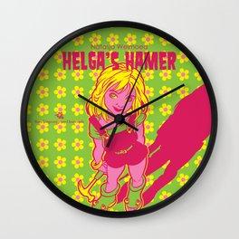 Helga's Hamer Wall Clock
