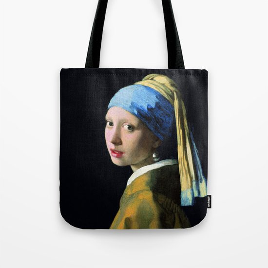 Vermeer - Girl with a Pearl Earring by palazzoartgallery