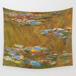 """Claude Monet """"The Water Lily Pond"""", c.1917-19 Wall Tapestry"""