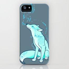 Water Fox Spirit iPhone Case