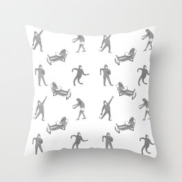 The Secret Life of Bigfoot Throw Pillow