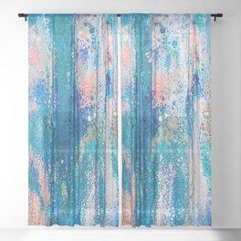 Swipe Enhanced 4 Sheer Curtain