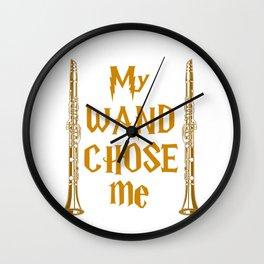 My Wand Choose Me Wall Clock