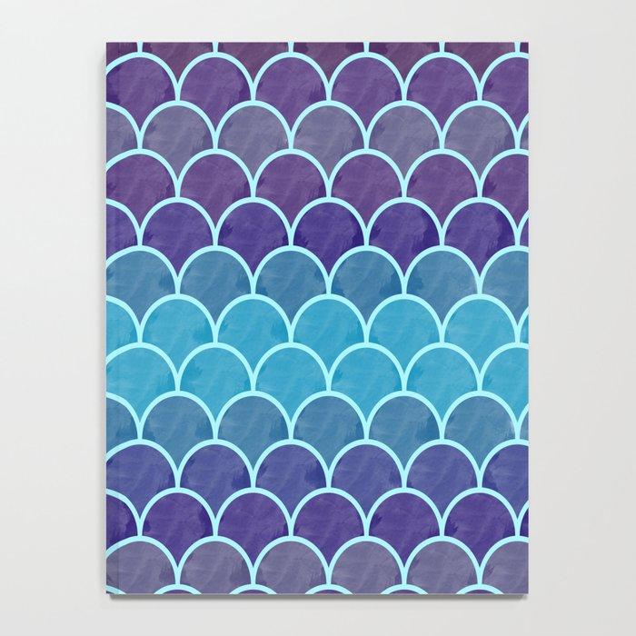 Watercolor Lovely Pattern VVIII Notebook
