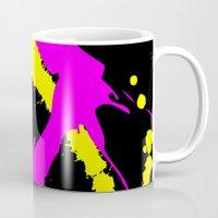 splatter Mugs featuring Splatter by Spooky Dooky