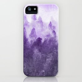Ultra Violet Adventure Forest iPhone Case