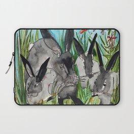 Bunny Mommy Laptop Sleeve