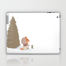 Winter Fox Tree Laptop & iPad Skin
