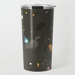 Space unicorn pattern Travel Mug