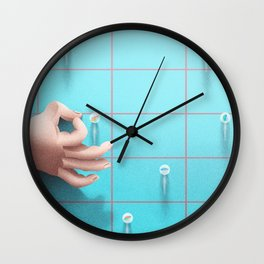 the marbles game Wall Clock
