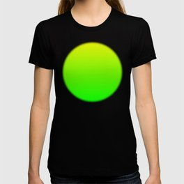 Neon Yellow/Green Ombre T-shirt
