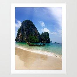 Railay Beach, Thailand Art Print