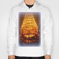 chandelier Hoodies featuring Venetian Chandelier  by Chris' Landscape Images & Designs