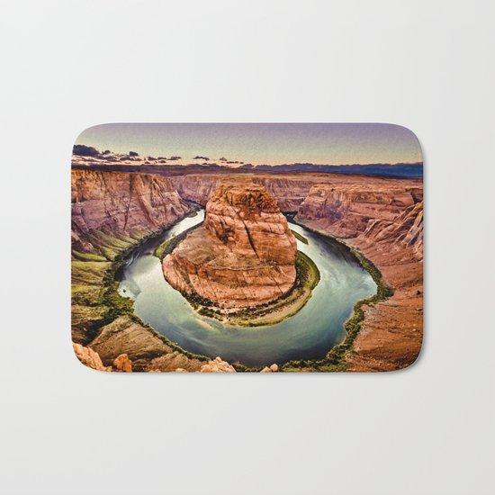 Horseshoe Bend Grand Canyon Arizona Bath Mat