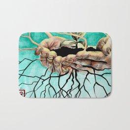 Root Hands Bath Mat