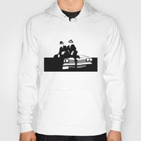 blues brothers Hoodies featuring Blues Brothers by Greg Koenig