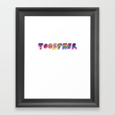 Together 2 Framed Art Print