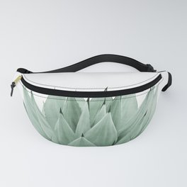 Agave Green Summer Vibes #1 #tropical #decor #art #society6 Fanny Pack